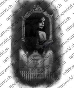 spiegelhaus spiegel tattoovorlage tattooworld wannado künstler