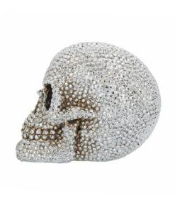 Priceless Grin Totenkopf Skull nemesis now Diamanten dekoartikel