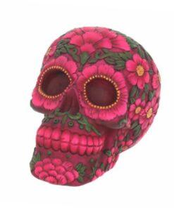 sugar blossom skull totenkopf blumen flower dekoartikel deko nemesisnow