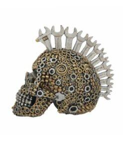 mecchanically minded skull totenkopf dekoartikel statue nemesisnow