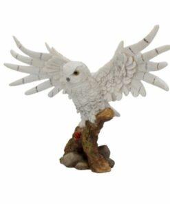 snowy rest eule owl nemesis now dekoartikel statue