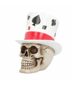 Casino jack skull totenkopf peak dekoartikel nemesis now blackjack poker