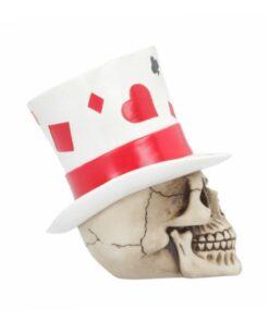 Casino jack skull totenkopf peak dekoartikel nemesis now blackjack poker