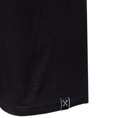 king kerosin, shirt, t-shirt. schwarz, logo