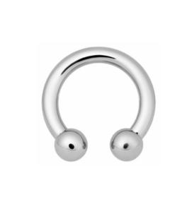 Open nose ring, circular barbell, hufeisen, silber, Titan, piercing, schmuck, accessoire, twstore, bodywelt