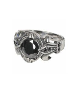 Edelstahl, rostfrei, ring, accessoire, schmuck, stein, fleur de lys