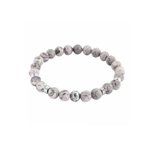armband, ying yang, accessoire, schmuck, perlen