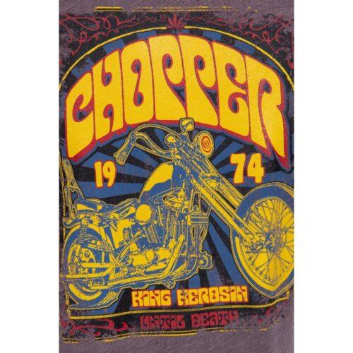 king kerosin, shirt, tshirt, retrostyle, chopper, vintage, fashion braun, motorrad, biker, twstore