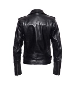 Queen kerosin, leather jacket, real leather, schwarz, red lining, Pockets for protectors, belt, ladies, ladies, fashion, mode, twstore