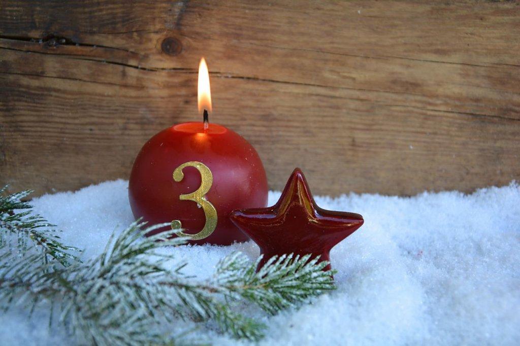 3. Advent, kerze, besinnliche zeit, geschenke, geschenkidee, gutschein, gutscheine, tattoo, piercing, shopping, kleider, accessoire, deko, twstore, onlinshop