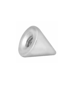cone, aufsatz, innengewinde, piercing, schmuck, accessoire, spitze, silber, twstore, body welt