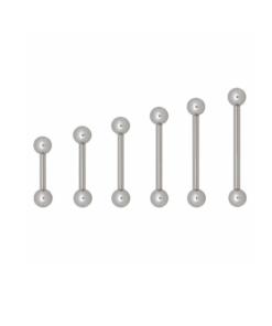 Piercing, barbell, stab, gerade, kugel, ball, gewinde, schmuck, accessoire, bodywelt, twstore, titan